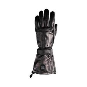 Venture 12V All Leather Gloves (Black, X-Small)