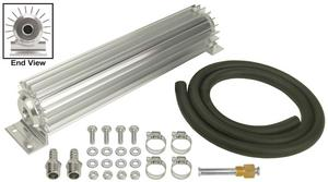 DERALE 14-1/4 x 2-3/16 x 3-1/4 in Automatic Trans Fluid Cooler Kit P/N 13253
