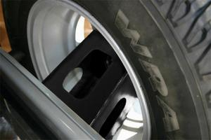 Rampage 86616 Tailgate Tire Extender