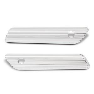 Arlen Ness Chrome 10-Gauge Saddlebag Latch Cover 03-609