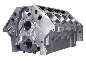 DART 31867211 LS SHP Iron Block 9.240 Deck/4.125 Bore