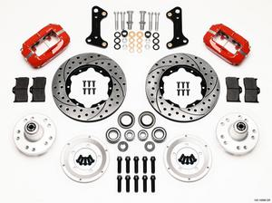 WILWOOD Dynalite 4 Piston Front Brake System GM A/F/X 1964-74 P/N 140-10996-DR