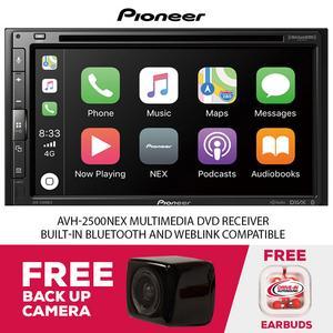 Pioneer AVH-2500NEX Multimedia DVD Receiver & Free Backup Camera