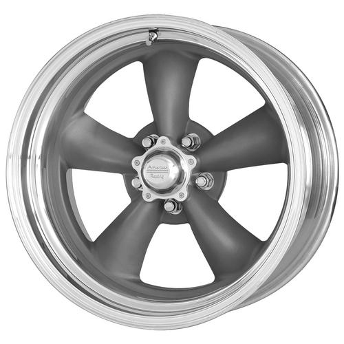 "American Racing VN215 Torq Thrust 2 18x7 5x5"" +6mm Gunmetal Wheel Rim 18"" Inch"