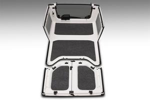 BedRug HLJK074DRK BedRug Headliner Kit Fits 07-10 Wrangler