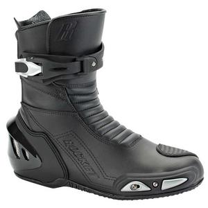 Joe Rocket Super Street RX14 Water Resistant Motorcycle Boots Black Mens 9