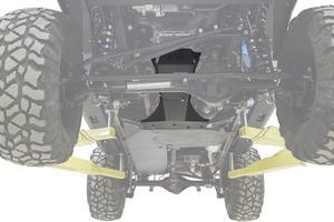Fab Fours JK3032-1 Transmission And Oil Pan Skid Plate Fits 07-18 Wrangler (JK)