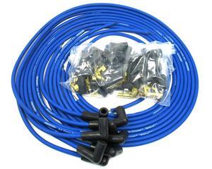 PERTRONIX Blue Spiral Core Magx2 8-Cylinder Spark Plug Wire Set P/N 808390