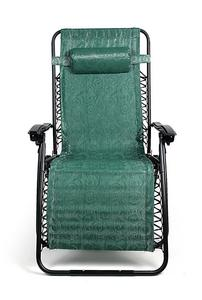Camco 51831 Zero Gravity Wide Recliner (X-Large, Green Swirl Pattern)