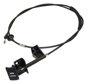 Crown Automotive 55235483AD Hood Release Cable Fits 97-01 Cherokee (XJ)
