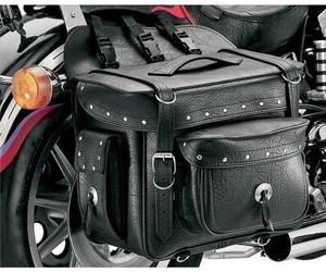 All American Rider 9902RVT XXXL Box-Style Detachable Saddlebag - Rivet