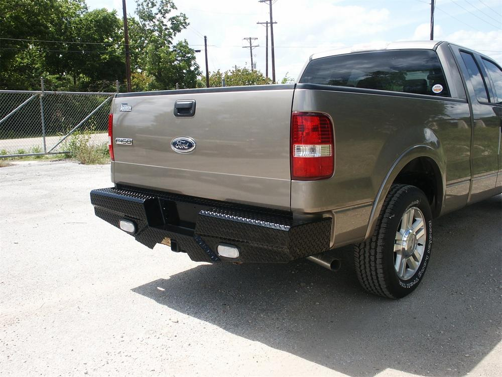 05 F150 Bumper >> Frontier Truck Gear 100 10 4009 Diamond Series Rear Bumper Fits 04 05 F 150 Sold By Dan S House Of Speed Motoroso