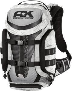 American Kargo Trooper Backpack White