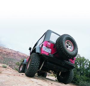 Warn 61860 Rock Crawler Rear Bumper Fits 76-86 CJ5 CJ7