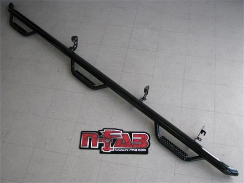 N-Fab T0683QC-6-TX Wheel To Wheel Nerf Step Bar w/Bed Access Fits 05-15 Tacoma