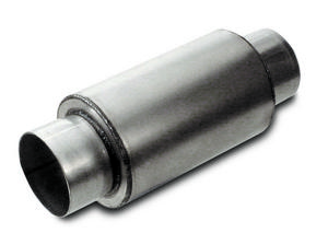 DYNATECH 3-1/2 in Center Inlet/Outlet Split Flow Muffler P/N 776-06352