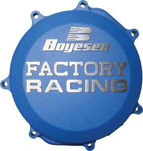 Boyesen Factory Clutch Cover Blue For Husqvarna CC-41L