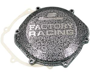 Boyesen CC-07A Factory Clutch Cover - Silver/Black
