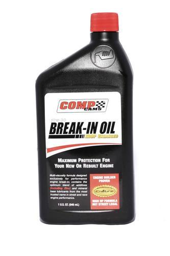 COMP Cams 1 Quart of 10W-30 Break-In Engine Oil