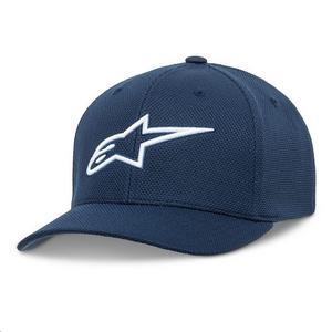 Alpinestars Ageless Mock Mesh Hat Blue/White (Blue, Small - Medium)