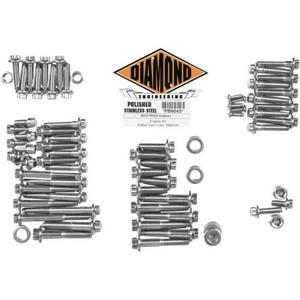Diamond Engineering PB601S 12-Point Polished Stainless Engine Kit