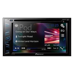 """Pioneer AVH-290BT Multimedia DVD Receiver 6.2"""" WVGA Display Bluetooth"""