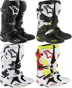 Alpinestars Tech 10 Offroad MX Boots Black Mens Size 7