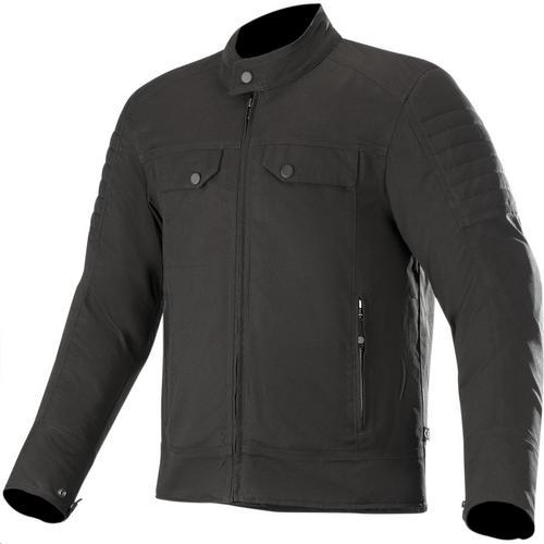 Alpinestars Ray Canvas V2 Jacket (Black, XX-Large)
