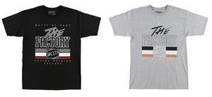 FMF Racing 2017 Adult Tee Shirt The Factory Grey T-Shirt M