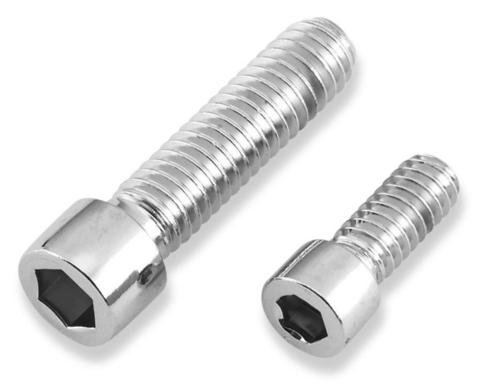 Gardner-Westcott 10390 Chrome Polished Socket Head Sprocket Bolts - 7/16in.-14 x 2-3/4in.