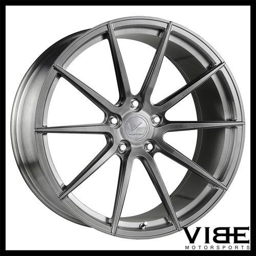 20 Vertini Vs Forged Vs01 Brushed Wheels Rims Fits Bmw E90 325 328