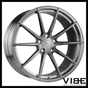 "20"" VERTINI VS FORGED VS01 BRUSHED CONCAVE WHEELS RIMS FITS LEXUS RCF"