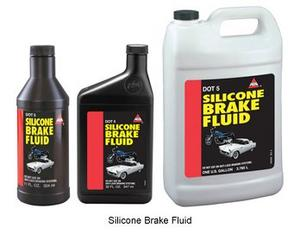 AGS DOT 5 Silicone Brake Fluid, 11 fl. oz. plastic bottle (SBF-12)