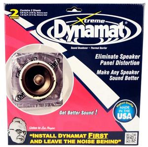 Dynamat Extreme Sound Barrier 10x10 in Sheet 2 pc P/N 10415