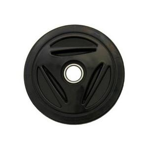 PPD Group 04-116-212 Idler Wheel - 6.5in. x 25mm - Black