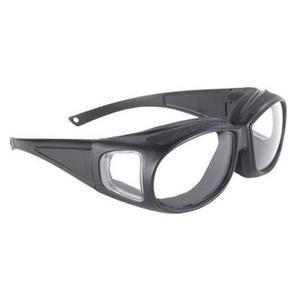 Pacific Coast Sunglasses Kickstart Defender Sunglasses Black / Clear Lens (Black)