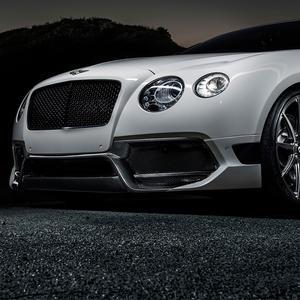 Vorsteiner BR-10RS Aero Front Bumper Carbon Fiber Fits Bentley Continental GT V8