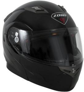 Zoan Flux 4.1 Solid Snow Helmet with Double Lens (Black, XX-Large)