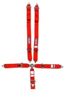RJS SAFETY Red Wrap Around 5 Point Cam Lock Harness P/N 1034904