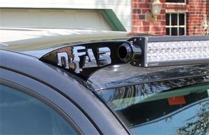 N-Fab F9749LR Roof Mounted Light Brackets Fits 97-03 F-150