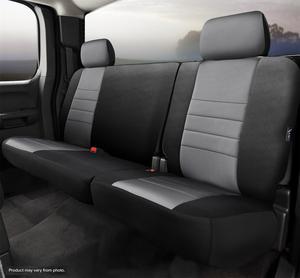 Fia NP92-52 GRAY Neo Neoprene Custom Fit Truck Seat Covers Fits 19 1500