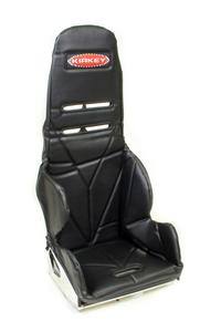 KIRKEY Black Vinyl Snap Attachment Seat Cover P/N 24201
