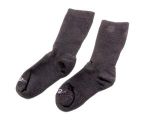 PXP RACEWEAR Black Medium SFI 3.3 ZX Series Socks P/N 193