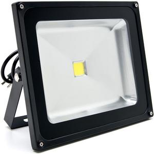 Biltek 50W LED Flood Light Cool White High Power Outdoor Spotlights Industrial Lighting Home Security Lighting Outdoor House Business Surveillance Safety Wall Washer High Building Billboard Garden