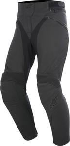 Alpinestars Womens Motorcycle Leather Black Stella Jagg Pants Size 38