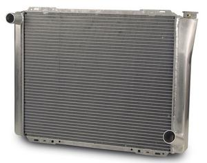 AFCO RACING PRODUCTS 26 in W x 19 in H x 3 in D Aluminum Radiator P/N 80103N