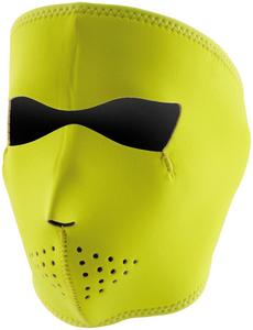 Zan Headgear Full Face Mask Hi-Vis Lime (Yellow, OSFM)