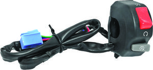 K&S�Universal Motorcycle Handlebar Switch Run Off Starter Combo 12-0203