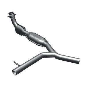 "MagnaFlow 49 State Catalytic Converter 93665  2.5"" Tubing 2.5"" Inlet/Outlet OD"
