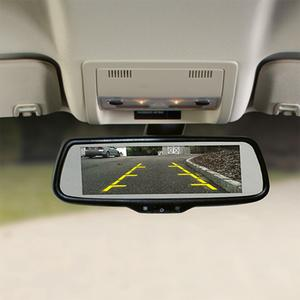 Voxx RVM740 Wide-Screen Replacement Rear-View Mirror Monitor